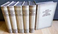 6x Weltgeschichte Leopold von Ranke Historische Meisterwerke Bücher Christensen