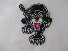 STALKING BLACK PANTHER IRON ON/SEW ON CLOTH PATCH (P05)