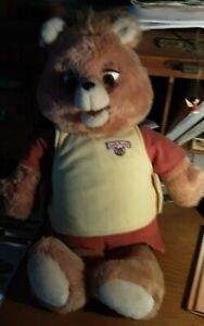 "Vintage Teddy Ruxpin with book and tape ""The Airship"" 1984,1985"
