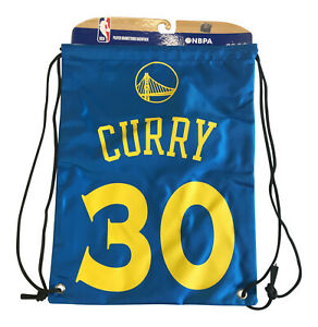 Stephen Curry #30 Player Golden State Warriors Drawstring Backpack Bag NBA