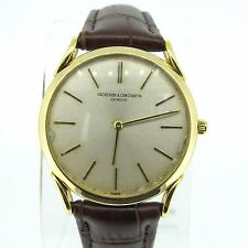 RARE Vacheron & Constantin Vintage Dress Watch Extra Slim 18K Yellow Gold 31mm