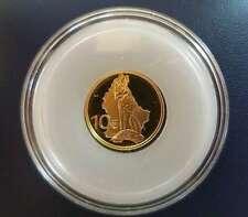 Luxemburg 10 Euro Gold Münze Kulturelle Geschichte - Der Fuchs 2011