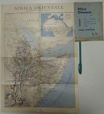 Rilievo panoramico per seguire le operazioni militari Italo-Etiopiche. Stab. Gra