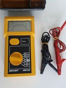 Avo Megger Bm 200 Good Used Condition