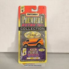 Chevy Van * Orange * Matchbox Premiere RETRO 70's Collection * NF3