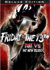 FRIDAY THE 13TH - PART 7: THE NEW BLOOD NEW DVD