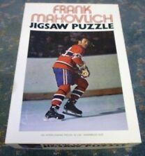1972 Frank Mahovlich Jigsaw Puzzle With Original Box