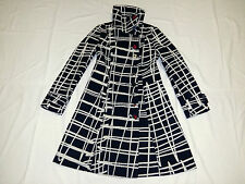 Desigual black white nice ladies women coat size 42