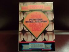 1989-90 Senior Professional Baseball Association Baseball Card Set