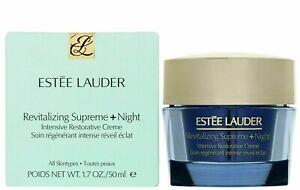 Estée Lauder Revitalizing Supreme + Night Intensive Restorative Cream 50ml.BNIB
