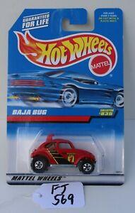 Hot wheels HW Baja Bug Red collector #835 FNQHotwheels FJ569