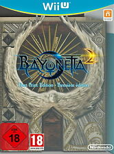 Bayonetta 2 -- First Print Edition (Nintendo Wii U, 2014, DVD-Box)