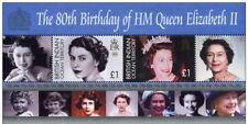 "British Indian Ocean Terr BIOT - ""80th BIRTHDAY OF QN ELIZABETH II"" MNH MS 2006"