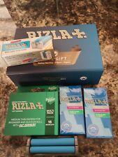 RIZLA gift box REGULAR Cigarette Rolling-Machine with 15 books paper 240 filter