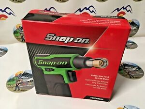 NEW 2021 SNAP ON GREEN BUTANE GAS TORCH TORCH300G RARE GREEEN Quality that lasts