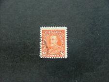 Canada KGV 1935 8c orange SG346 FU