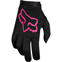 Fox Racing Motocross Dirtbike Offroad MX Womens Dirtpaw Mata Black Pink Glove