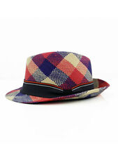 NAUTICAL FEDORA NAVY, RED, WHITE TOQUILLA