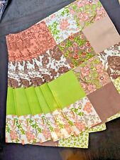 """(18) Placemats PATCHWORK QUILT PLACEMATS 13""""x18"""" Shelter in Place and EAT WELL"""