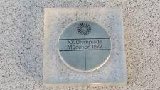 OFFICIAL OLYMPIC PARTICIPATION MEDAL MUNICH 72 (XX OLYMPIAD) by FRITZ KONIG +BOX
