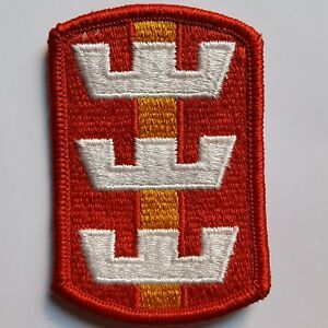 20 STK PACK U.S. ARMY AUFNÄHER PATCH 130TH ENGINEER BRIGADE COLOR NEU ORIGINAL