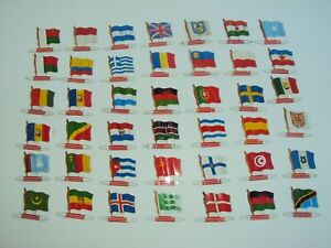 LOTS OF FLAGS BY BISCUITS THE ALSATIAN VINTAGE