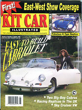 Kit Car Illustrated Magazine August 1992 Easy To Build Cabriolet EX 012916jhe