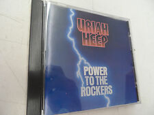 Power To The Rockers by Uriah Heep music CD Tested!