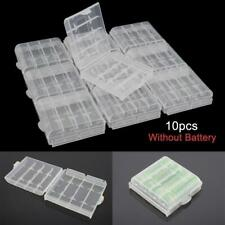 1pcs Hard Plastic Clear Case Cover Holder Battery Storage Box