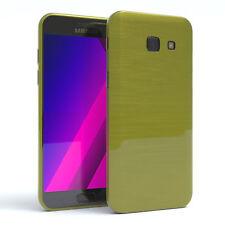 Schutz Hülle für Samsung Galaxy A5 (2017) Brushed Cover Handy Case Grün