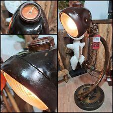 TISCHLAMPE Fahrrad Antik LAMPE VESPA ROLLER Einzelstück Stehlampe Mod. 01