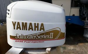 Yamaha OX66 Saltwater Series II Outboard Decals stickers   message HP 150 - 250