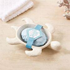 SEA cercatore in ceramica tartaruga porta sapone con sapone profumato Clearwater