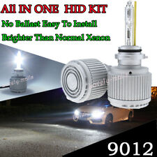 9012 9012LL HIR2 ALL IN ONE Xenon HID Replacement Bulb KIT White No Need ballast