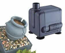 JEBAO PP377 SUBMERSIBLE WATER FOUNTAIN PUMP ADJUSTABLE SPEED 106GPH PET DOG BOWL