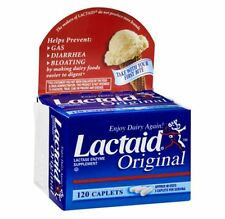LACTAID Original Caplets 120 Caplets (Pack of 8)
