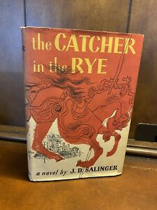 The Catcher in the Rye by J.D. Salinger 1951 Hardcover BCE DJ