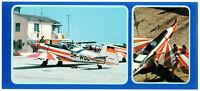 ZLIN Z-526 AFS  AVIA Czech Czechoslovakia Aircraft Fly Original VTG Postcard