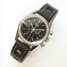 GENTS 1964 CARRERA RE-EDITION HEUER MODEL #CS3111 CHRONOGRAPH 36MM WATCH & BAND