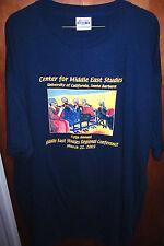 UNIVERSITY OF CALIFORNIA Center for Middle East Studies XXL T shirt 2XL