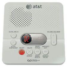 AT&T ATT1740 Digital Answering System w/ 60 min, Remote access, Memo recording