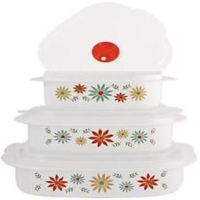 Corelle Coordinates Happy Days 6-Piece Microwave Cookware Storage Set New Dining