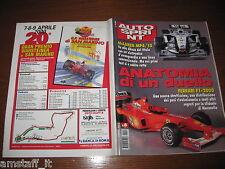 AUTOSPRINT 2000/6=COVER FERRARI F1=McLAREN MP4-15=PUBBLICITA' GP F1 SAN MARINO=