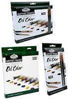 Royal Langnickel Olio Colore Artista Pennello Set 12ml Tubi Confezioni 12,18, 24