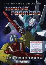 Transformers: Headmasters - The Japanese Collection [4 Discs] (DVD New)