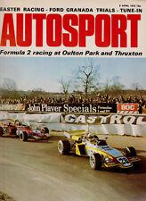 Autosport 6 Apr 1972 - Interlagos Reutemann's BT34 wins, Thruxton Peterson, 127