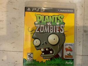 Plants vs. Zombies (Sony PlayStation 3, 2011) PS3 Complete w/ Manual