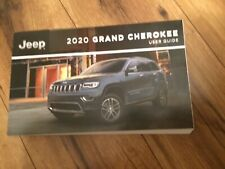 2020 JEEP GRAND CHEROKEE OWNERS USER GUIDE  NEW TAKE OUT