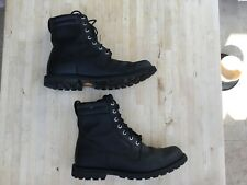TIMBERLAND EARTHKEEPERS BOOTS. BLACK UK SIZE 9. USED IN GOOD CONDITION