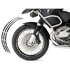 BMW R 1200 GS KIT ADESIVI SPECIFICI COLORE NERO CERCHIO PROFILO RUOTA